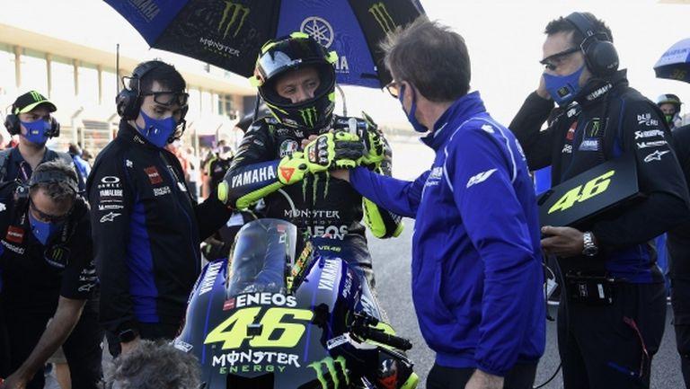 Валентино Роси остава важен член на отбора на Yamaha