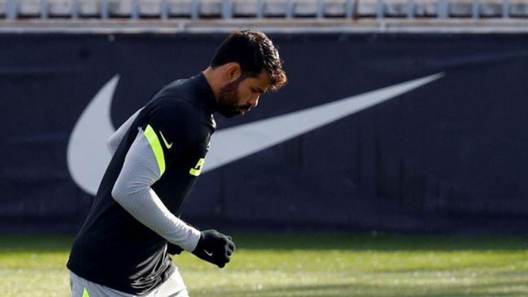 Диего Коща иска да разтрогне с Атлетико Мадрид