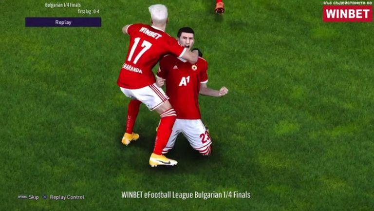 ЦСКА и Локо (Пд) също са на полуфинал в WINBET е-футбол лига