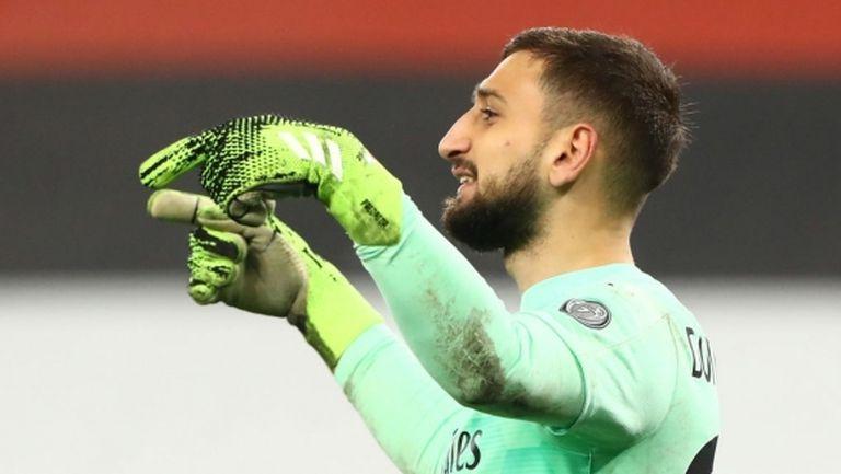 Милан продължава преговорите за нов договор с Донарума