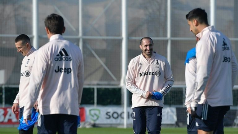 Киелини и Демирал подновиха тренировки с Ювентус