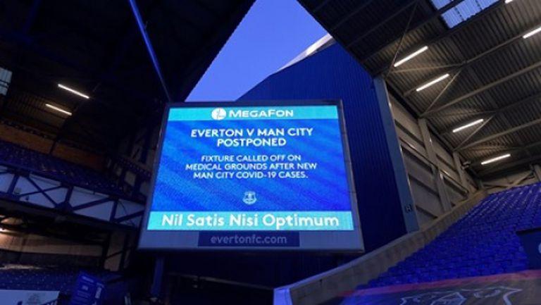 От Евертън излязоха с изявление след отложения мач с Манчестър Сити