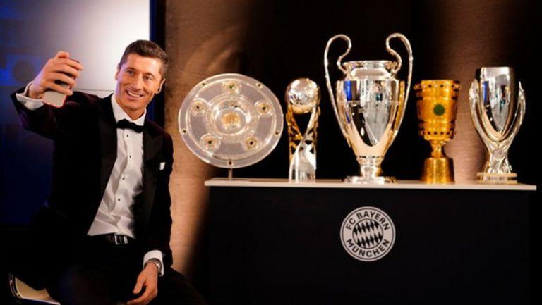 Левандовски изпревари Хамилтън и Надал за Спортист на годината
