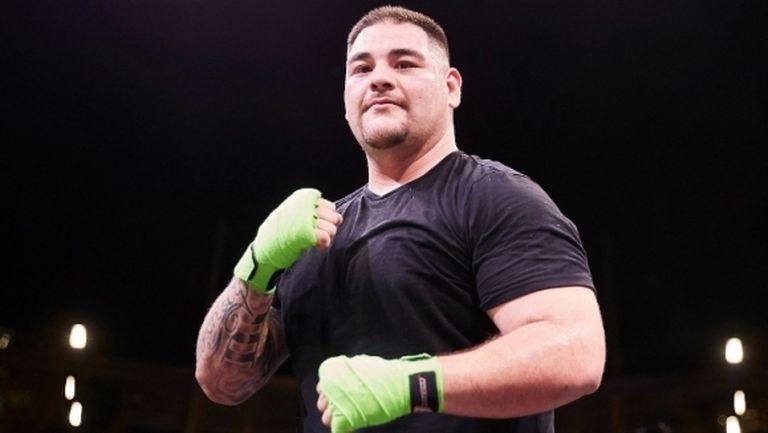 Анди Руис сваля килограми и тренира усилено