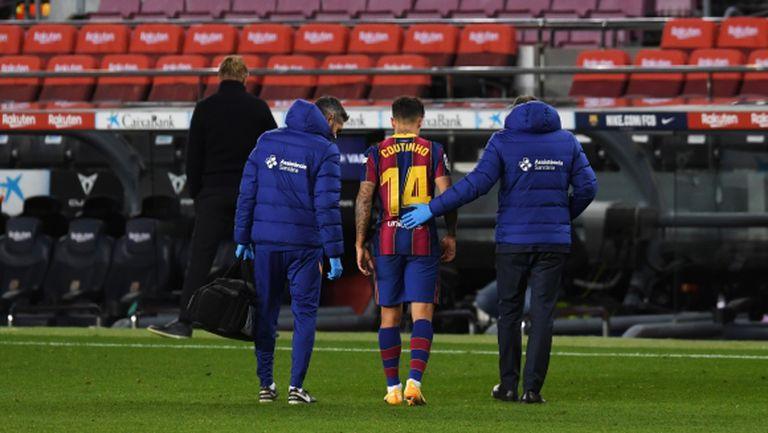 Пореден сериозен проблем пред Барселона този сезон