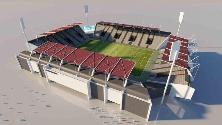 От Локо (Пд) показаха концепцията за новия стадион, утре подписват договора