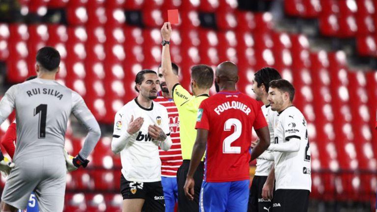 Гранада запрати Валенсия надолу в класирането (видео)