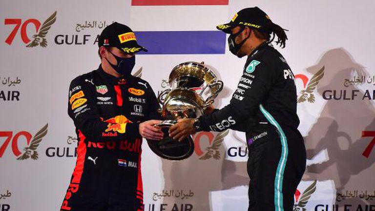 Верстапен определи Хамилтън като един от най-добрите в историята на Формула 1