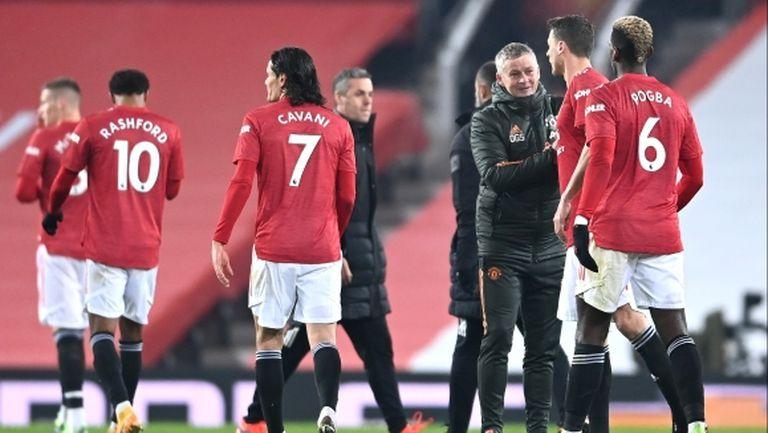 В Ман Юнайтед започнаха да мислят за титлата
