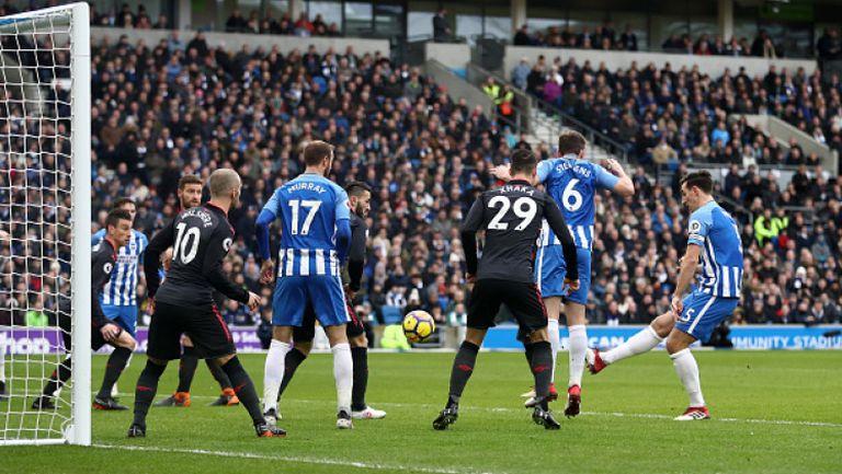 Брайтън - Арсенал 2:1