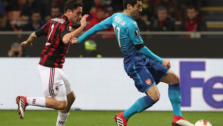 Милан - Арсенал 0:2