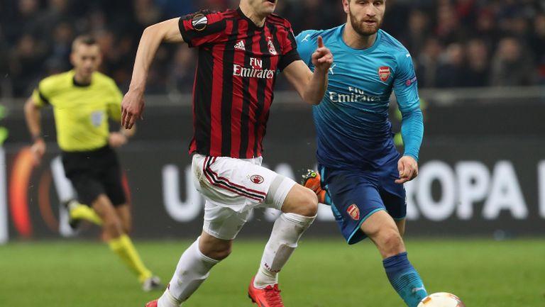 Арсенал постави Милан на колене