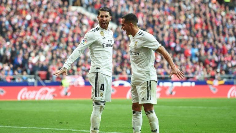 Рамос е пред мач №600 за Реал Мадрид