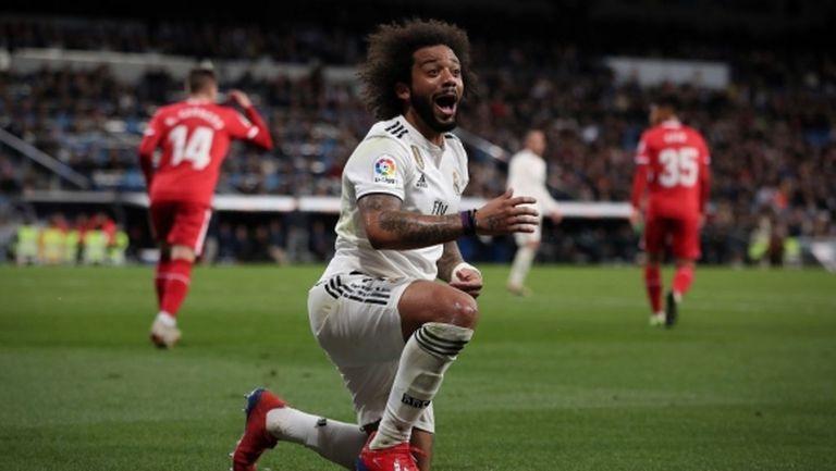 Ето с какво обещание Марсело ще си връща титулярното място в Реал