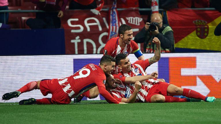 Атлетико Мадрид - Спортинг (Лисабон) 2:0