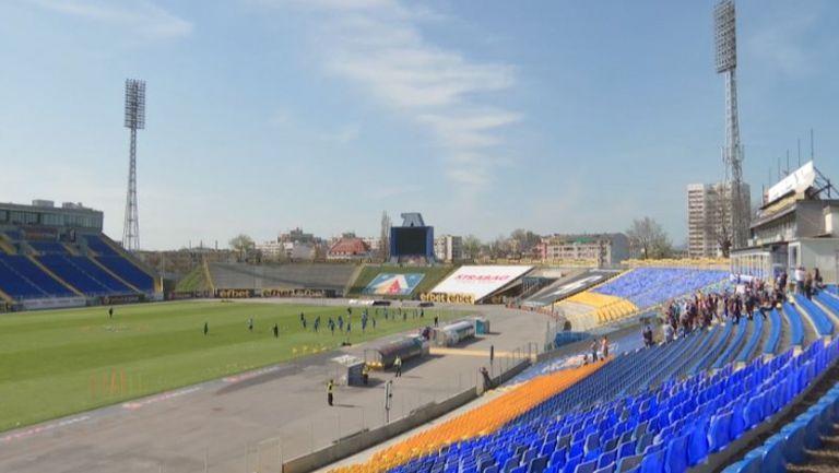 Левскарите надъхват отбора преди мача с ЦСКА-София