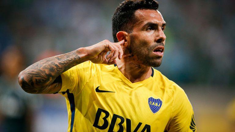 Карлос Тевес спаси Бока в последната минута срещу Палмейрас