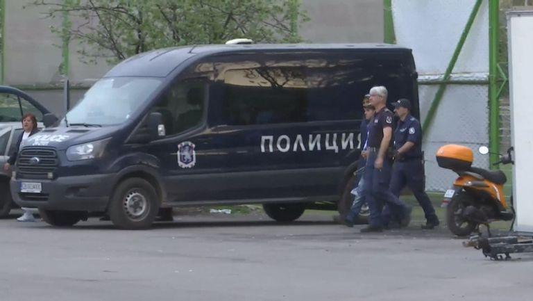 Полицията отведе фен на Левски преди сблъсъка с Лудогорец