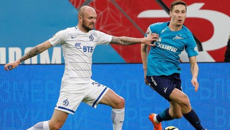 Драматичен успех остави Зенит в битката за Шампионска лига