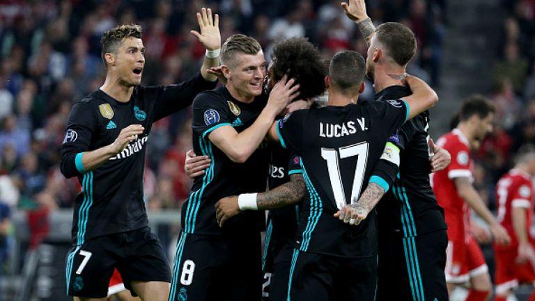 Байерн (Мюнхен) - Реал Мадрид 1:2