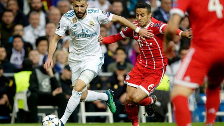 Реал Мадрид - Байерн (Мюнхен) 2:2