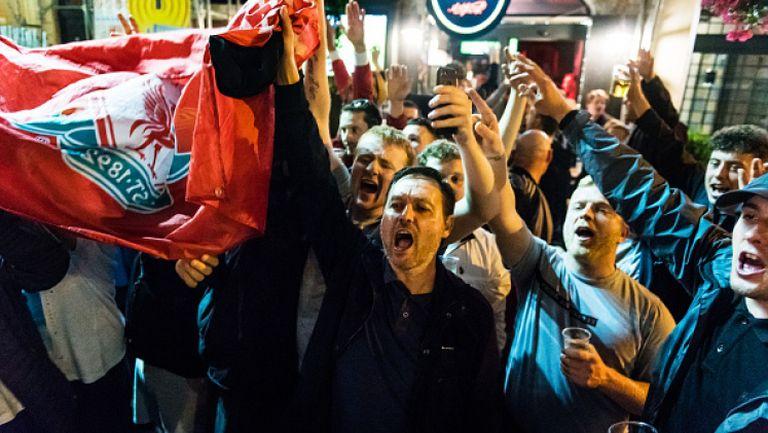 5000 фена на Ливърпул се събраха в Рим при засилено полицейско присъствие