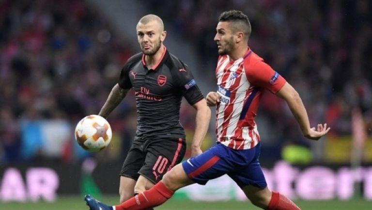 Атлетико Мадрид - Арсенал 1:0