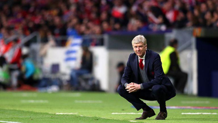 Венгер: Време е в Арсенал да помислят какво ще правят през следващия сезон