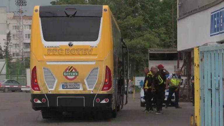 """Автобусът на Ботев (Пд) е вече на """"Герена"""""""