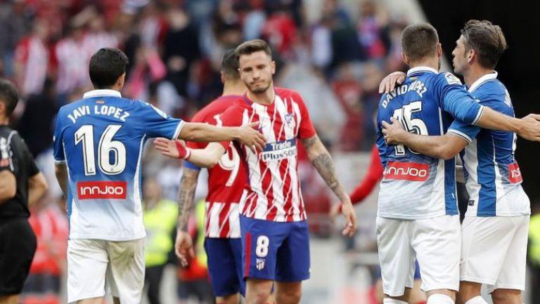 Атлетико Мадрид - Еспаньол 0:2