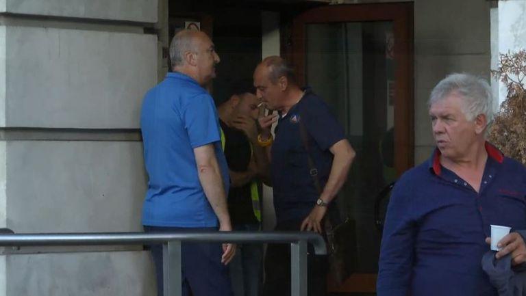 Делио Роси пуши нервно преди финала за Купата