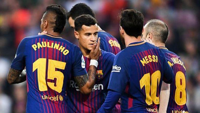 Барселона - Виляреал 5:1