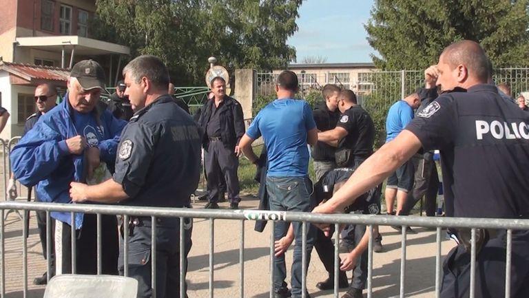 Щателна проверка за феновете на Левски в Разград