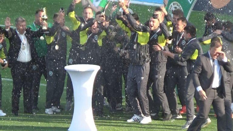 И Лудогорец U19 триумфира с титлата на България