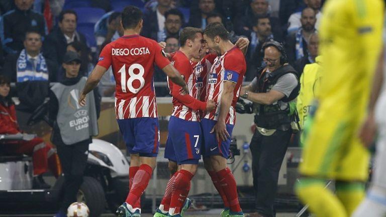 Олимпик Марсилия - Атлетико Мадрид 0:3