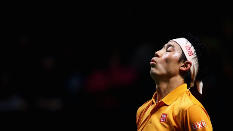 Кей Нишикори се класира за втория кръг в Дубай, Чилич и Медведев отпаднаха