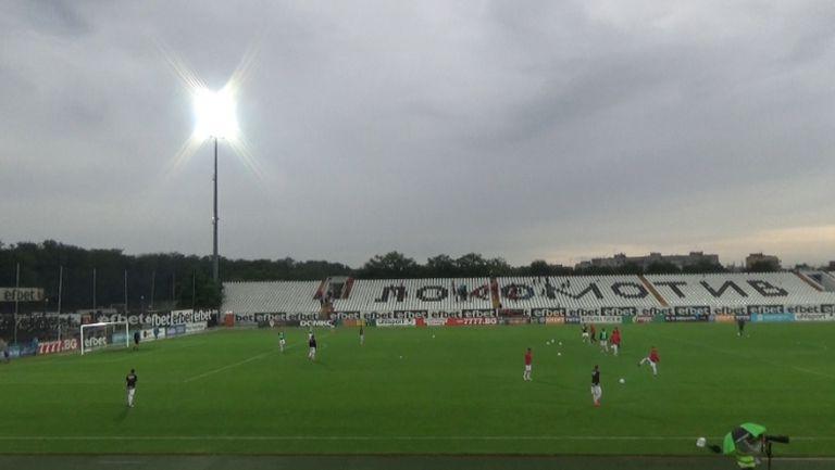 Футболистите на Локо (Сф) загряха преди баража с Витоша
