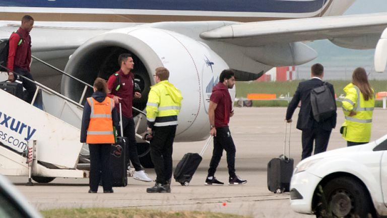 Изловиха Салах на летището във Валенсия
