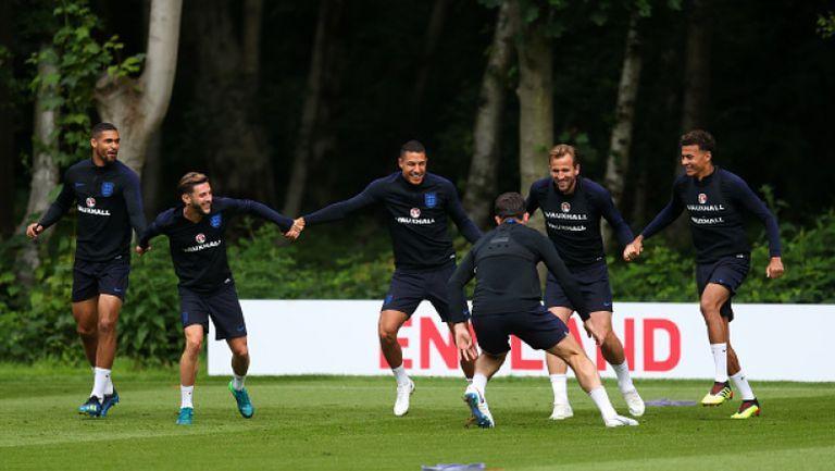 Англичаните в почти пълен състав преди мача с Нигерия