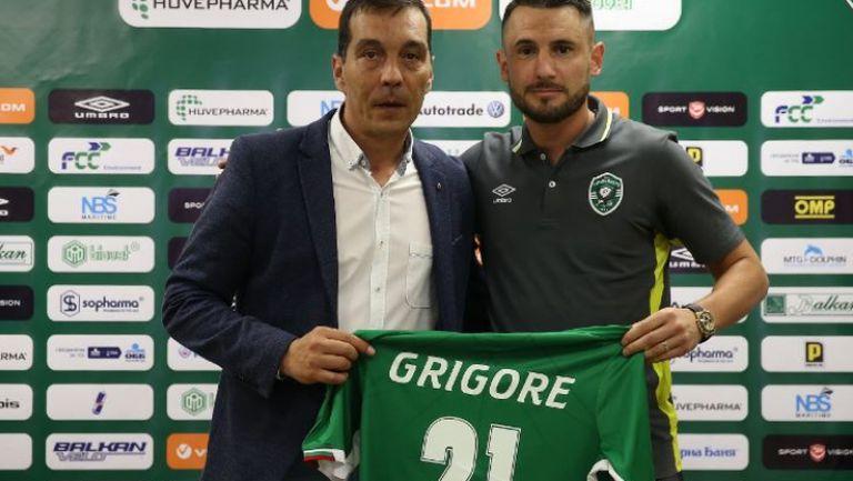 Драгош Григоре: Приоритет за Лудогорец е участието в Шампионска лига