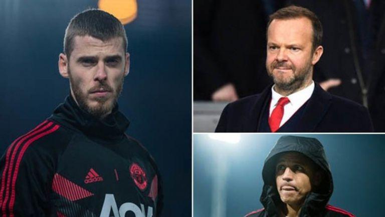 Юнайтед рискува да изгуби Де Хеа, ако не го изравни с Алексис