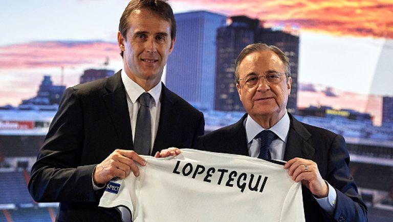Флорентино Перес официално представи Юлен Лопетеги начело на Реал