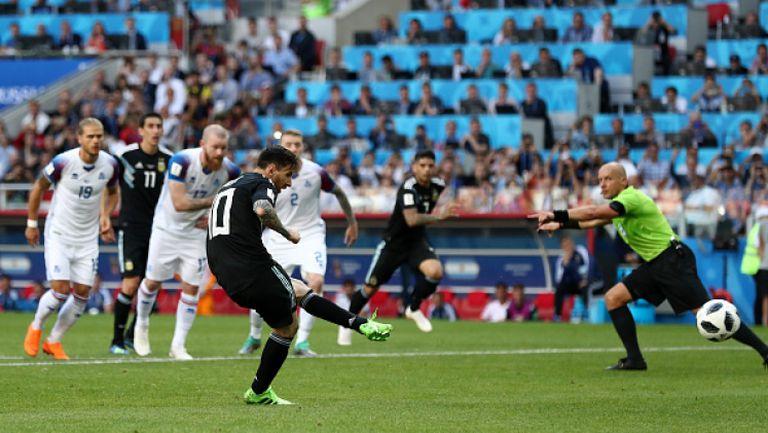 Меси изпусна дузпа за Аржентина срещу Исландия