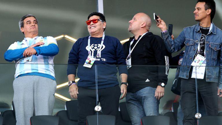 Марадона се хвана за главата след поредния пропуск на Аржентина срещу Исландия