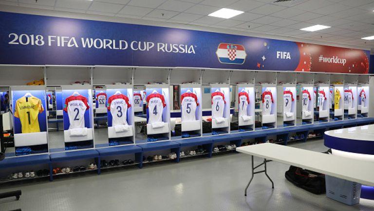 Съставите на Хърватия и Нигерия преди мача в Калининград