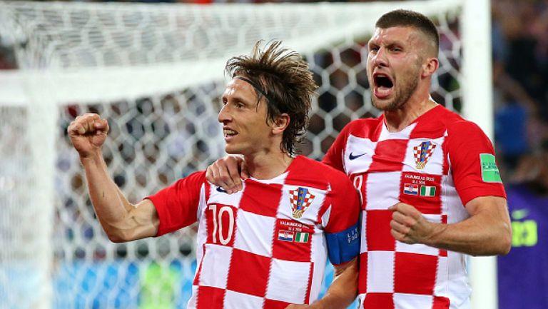 Лука Модрич удвои след дузпа срещу Манджукич