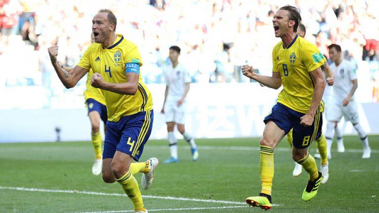 Швеция не впечатли, но измъкна победата срещу Южна Корея