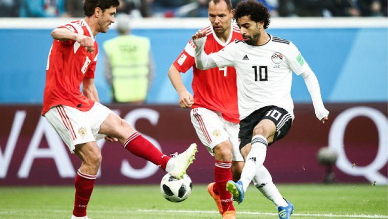 Русия се класира за следващата фаза след 3:1 срещу Египет