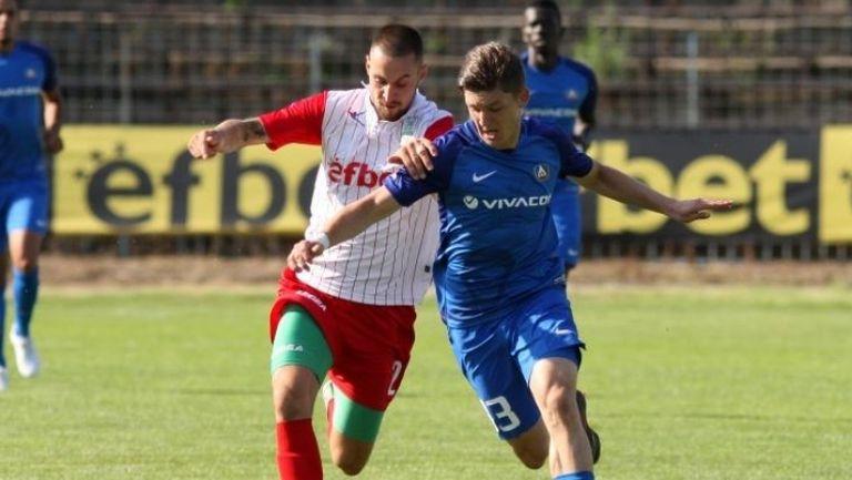 Левски започна силно с 4:0 над Хебър в Пазарджик