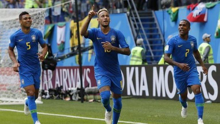 Бразилска самба в добавеното време на мача с Коста Рика